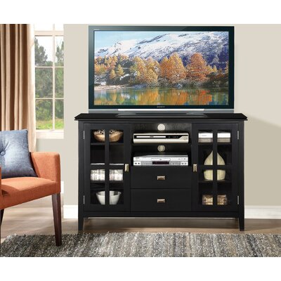Leventhorpe 53 TV Stand Color: Black