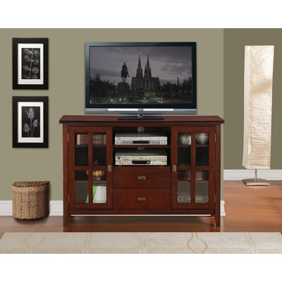 Leventhorpe TV Stand Finish: Brown