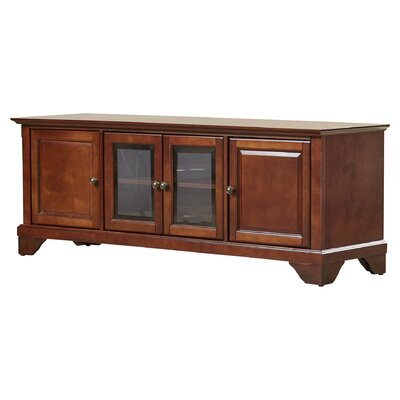 Abbate Low Profile TV Stand Finish: Vintage Mahogany