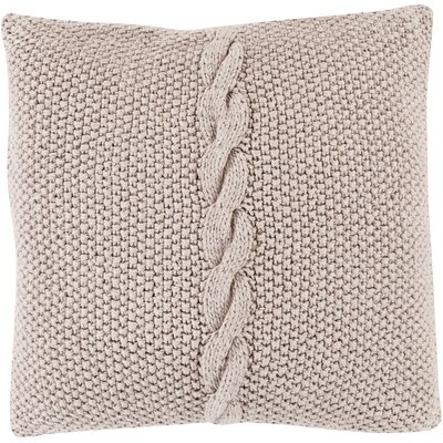 Gascoyne Twist Cotton Throw Pillow