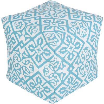 Eyston Pouf Ottoman Upholstery: Sky Blue