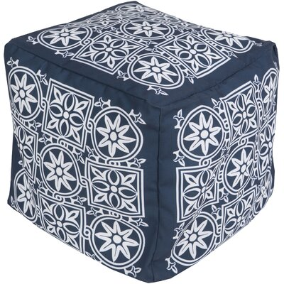 Digby Pouf Upholstery: Navy