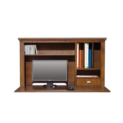 Eaton 24 H x 42 W Desk Hutch Finish: Brown Cherry