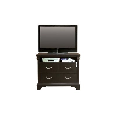 Riegel 4 Drawer Media Dresser Color: Espresso