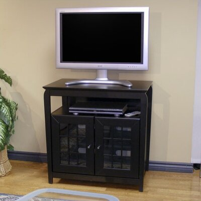 Fisher TV Stand Finish: Black