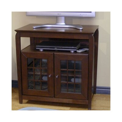 Fisher 32 TV Stand Color: Walnut Brown
