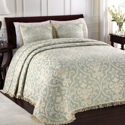 Doddle Bedspread Color: Blue, Size: Queen