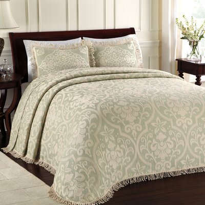 Doddle Bedspread Color: Sage, Size: Queen