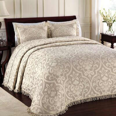 Doddle Bedspread Size: Queen, Color: Linen