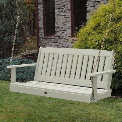 Kenilworth Porch Swing Color: Whitewash
