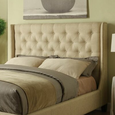 Cooper Upholstered Panel Bed Size: King