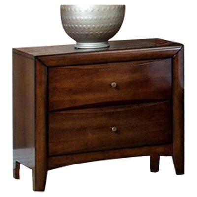 Le Roy 2 Drawer Nightstand