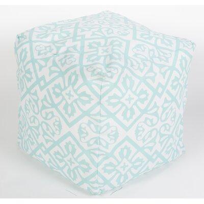 Eyston Pouf Ottoman Upholstery: Mint