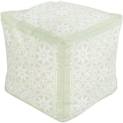Digby Pouf Ottoman Upholstery: Light Green