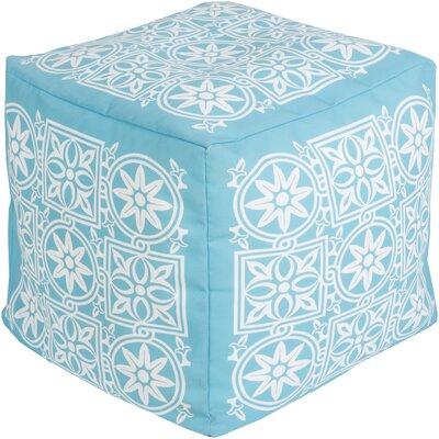 Digby Pouf Ottoman Upholstery: Sky Blue