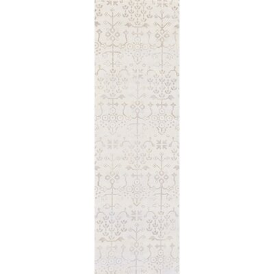 Iroquois Hand Woven Gray Area Rug Rug Size: Runner 26 x 8