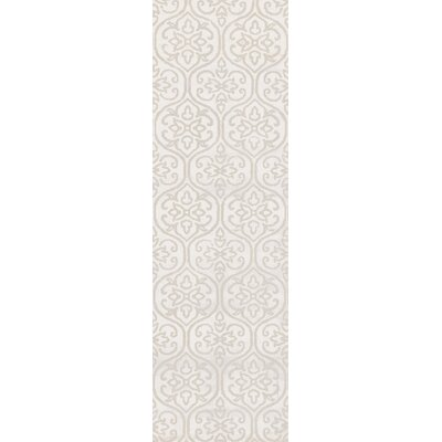 Iroquois Ivory Area Rug Rug Size: Runner 26 x 8