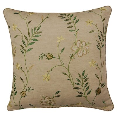 Cary Throw Pillow Color: Clover