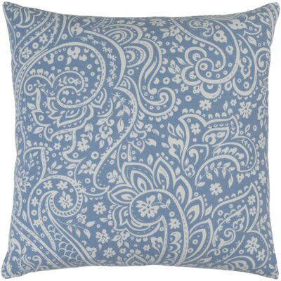 Brehmer Cotton Throw Pillow Size: 22 H x 22 W x 4 D, Color: Coral / Ivory