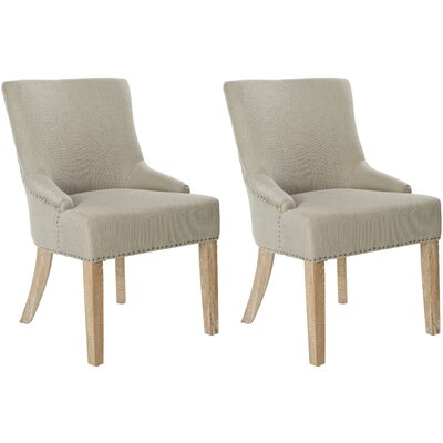 York Upholstered Dining Chair Upholstery: Biscuit Beige