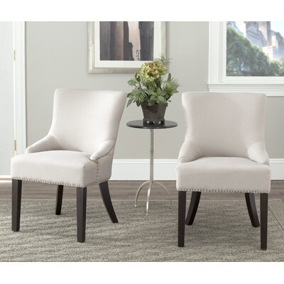 York Upholstered Dining Chair Upholstery: Briella Beige
