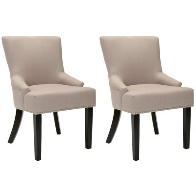 York Upholstered Dining Chair Upholstery: Beige