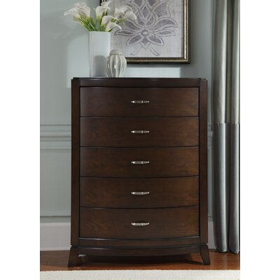 Loveryk 5 Drawer Standard Chest