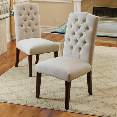 Radley Parsons Chair Upholstery: Fabric / Natural