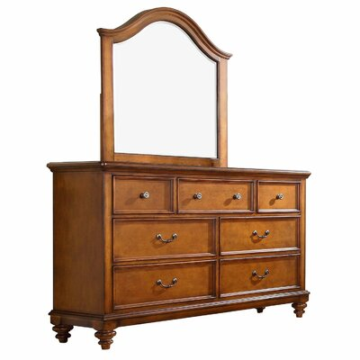 Millbrook 7 Drawer Dresser with Mirror