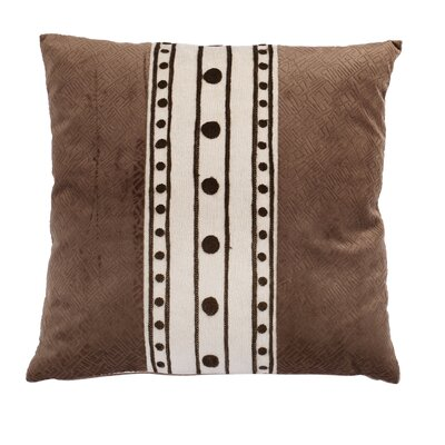 Hanrahan Embroidered Throw Pillow