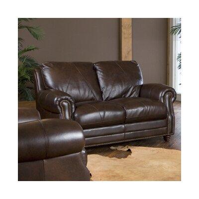 Gardner Leather Loveseat