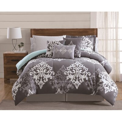 Coffield 12 Piece Comforter Set Size: King