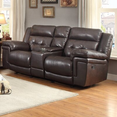 DBHC3856 26730867 DBHC3856 Darby Home Co Carriere Glider Reclining Loveseat