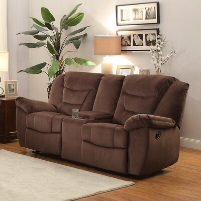 DBHC3882 26730893 DBHC3882 Darby Home Co Severns Glider Reclining Loveseat