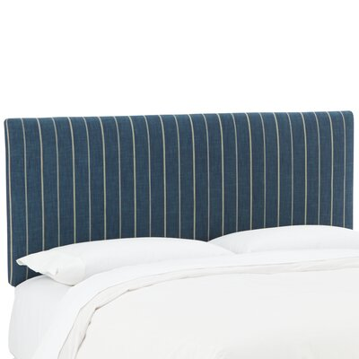 Mcdougall Upholstered Panel Headboard Size: California King, Upholstery: Fritz Indigo