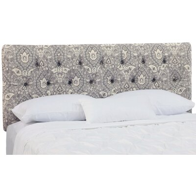 Burket Tufted Upholstered Panel Headboard Size: King