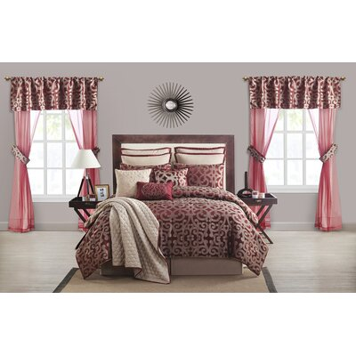 Zimmermann 22 Piece Comforter Set Size: Queen