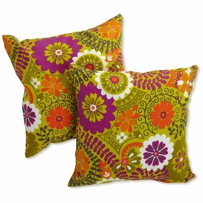 Dewald Outdoor Throw Pillow Color: Luxury Citron