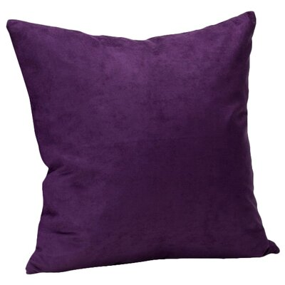 Hadenson Throw Pillow Color: Purple Grape