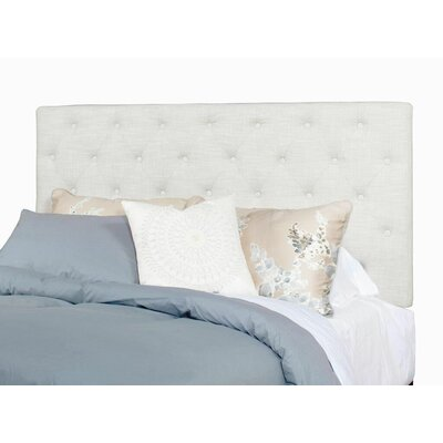 Algonquin Upholstered Panel Headboard Size: Queen
