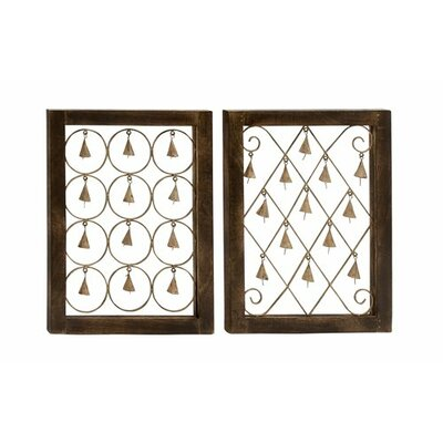 2 Piece Bell Wall Décor Set