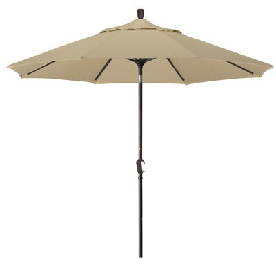 9' Wembley Market Umbrella Fabric: Sunbrella - Canvas Brick DBHC4550 29936314
