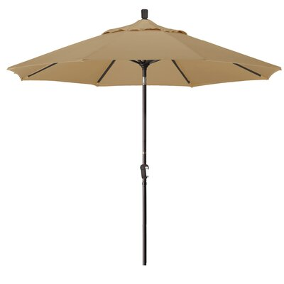 9 Market Umbrella Fabric: Heather Beige
