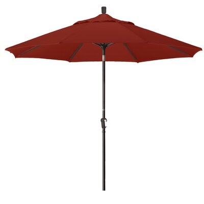 9 Market Umbrella Fabric: Terracotta