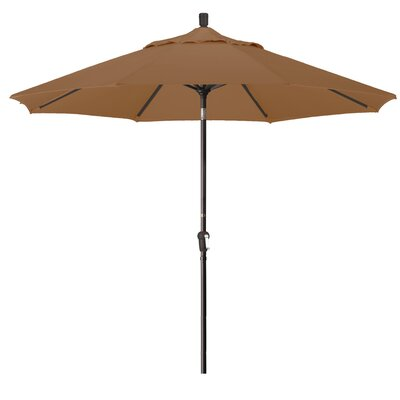9 Market Umbrella Fabric: Teak