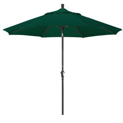 9 Market Umbrella Fabric: Forest Green