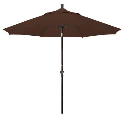 9 Market Umbrella Fabric: Bay Brown