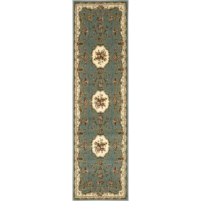 Easton Slate Area Rug Rug Size: Runner 22 x 76