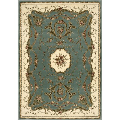 Easton Slate Area Rug Rug Size: 53 x 74