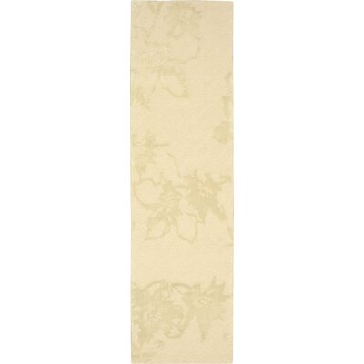 Stalbridge Hand-Tufted Sand Area Rug Rug Size: Runner 23 x 8